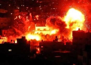 إسرائيل تقصف موقعا تابعا للمقاومة شمالي غزة