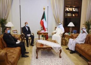 أمير الكويت يتلقى رسالة من روحاني حول تطورات كورونا