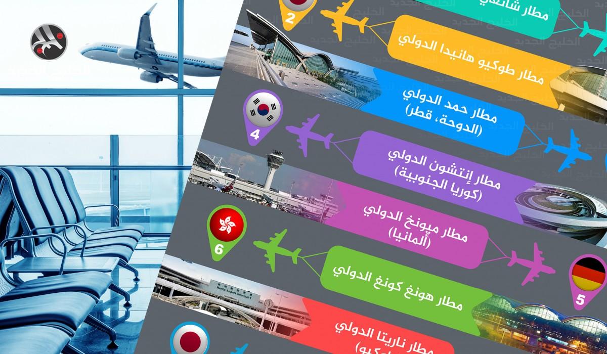 أفضل 10 مطارات في العالم للعام 2020