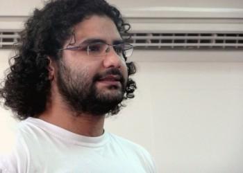 الناشط المصري علاء عبدالفتاح يكمل شهرا من الإضراب عن الطعام