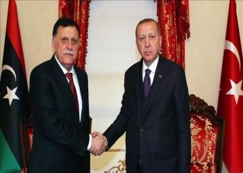 أردوغان يبحث مع السراج تنفيذ الاتفاق البحري بين تركيا وليبيا