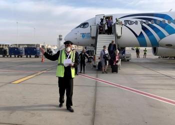إصابة أحد أفراد الأمن بمطار القاهرة الدولي وأسرته بكورونا