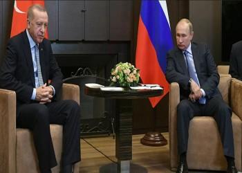 بوتين وأردوغان يبحثان تطورات الملفين السوري والليبي هاتفيا