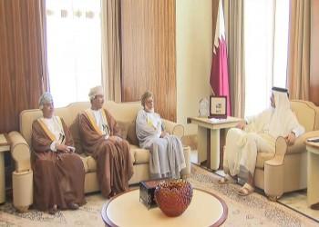 وزير الخارجية العماني يصل الدوحة الإثنين ويلتقي الأمير تميم