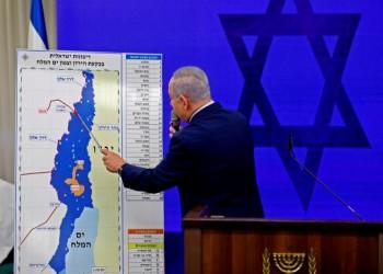 حول ضم (إسرائيل) أجزاء من الضفة