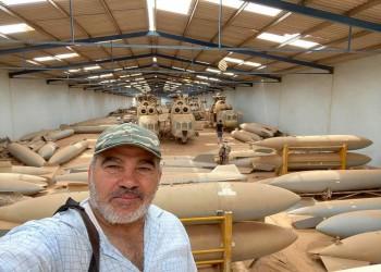 أسلحة وعتاد.. مغانم الوفاق الليبية في قاعدة الوطية (صور)