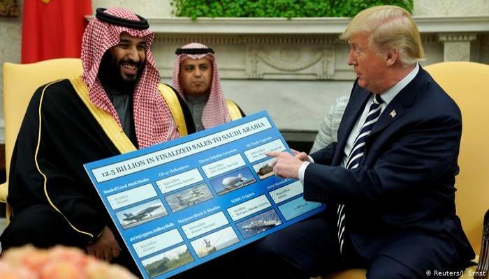 السعودية.. إنفاق عسكري تجاوز 270 مليار دولار في 5 سنوات
