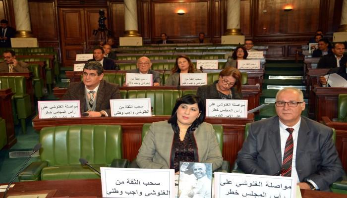 أحزاب تونسية هامشية تدين اتصال الغنوشي بالسراج لتهنئته بتحرير الوطية