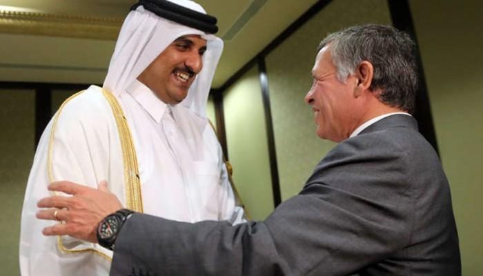 عاهل الأردن وأمير قطر يبحثان تطورات المنطقة ومواجهة كورونا