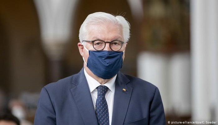 الرئيس الألماني يشكر المسلمين ويتعهد بالتصدي للعنصرية