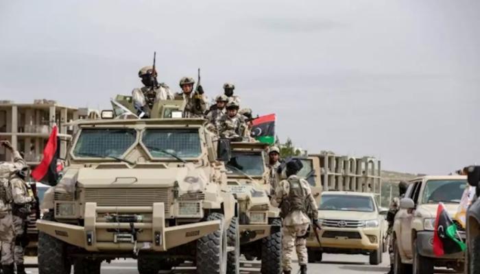 قوات الوفاق تقتحم معسكري اليرموك وحمزة جنوبي طرابلس