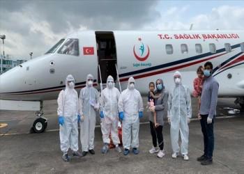 كلاكيت ثالث مرة.. تركيا تجلي مواطنة من بنجلاديش بطائرة إسعاف