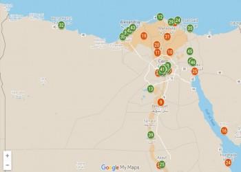 باطل تنشر خريطة لمستشفيات وفنادق الجيش المصري