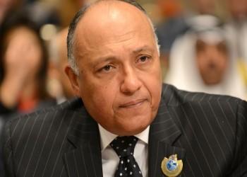وزيرا خارجية مصر وفرنسا يبحثان هزيمة حفتر