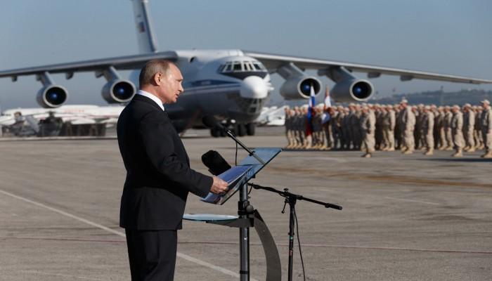 بوتين يتجه لتوسيع النفوذ العسكري الروسي في سوريا