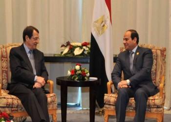 رئيسا مصر وقبرص يبحثان أمن الطاقة بالمتوسط وأزمة ليبيا