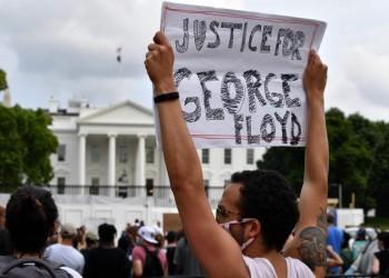 مظاهرات جورج فلويد تحاصر البيت الأبيض وتغلقه لدقائق (فيديو صور)