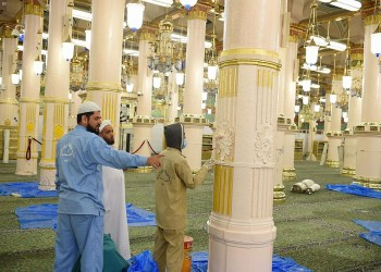 السعودية تعلن شروط الصلاة بالمسجد النبوي بعد فتحه