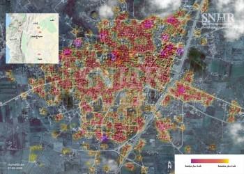 صور فضائية توثق الدمار الهائل في إدلب السورية