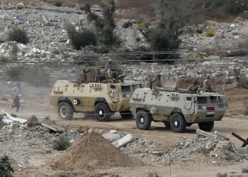 الجيش المصري يقر بمقتل 5 من عناصره ويصفي 19 مسلحا