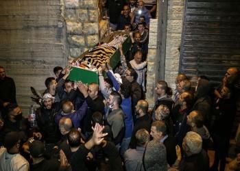 تشييع جثمان فلسطيني من ذوي الاحتياجات الخاصة قتلته إسرائيل