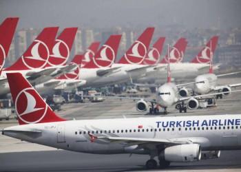 الخطوط التركية تتوقع تراجعا 60% في أعداد الركاب عن التقديرات الأولية
