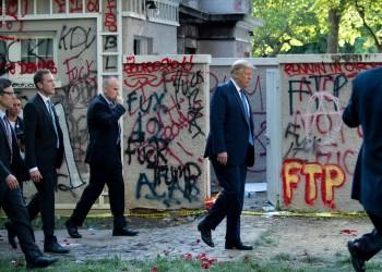 ترامب غضب من كشف اختبائه في قبو خلال احتجاجات فلويد