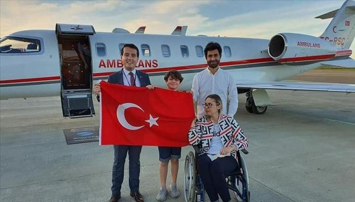 تركيا تخصص طائرة إسعاف لنقل مواطنة من النرويج