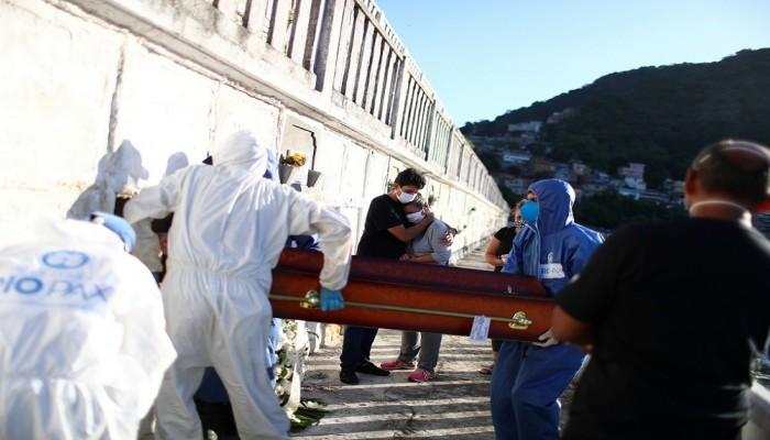 أكثر من 11 ألف إصابة و623 وفاة جديدة بكورونا في البرازيل
