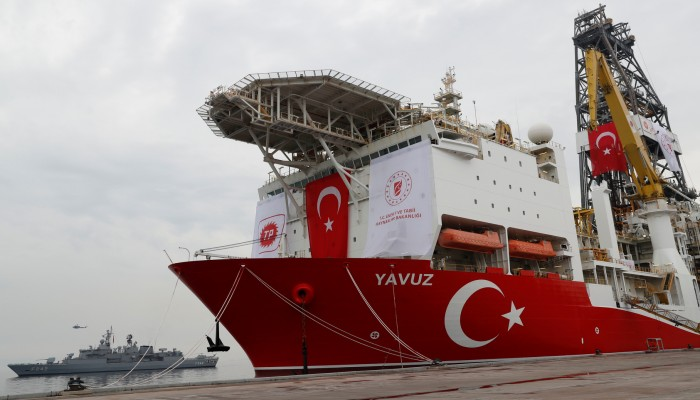 تركيا لليونان: أنشطتنا بالمتوسط طبقا للقانون الدولي