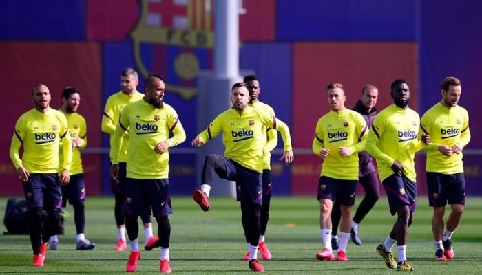 7 إصابات بفيروس كورونا في برشلونة بينها 5 لاعبين