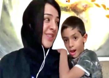 ابن وزيرة إماراتية يقاطع مؤتمر مانحي اليمن (فيديو)