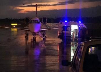 إجلاء عائلة تركية مصابة بكورونا من مصر بطائرة إسعاف