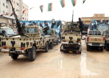 قوات الوفاق تتقدم في محاور طوق مطار طرابلس