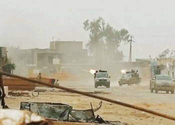قوات الوفاق تطلق عملية تحرير مطار طرابلس