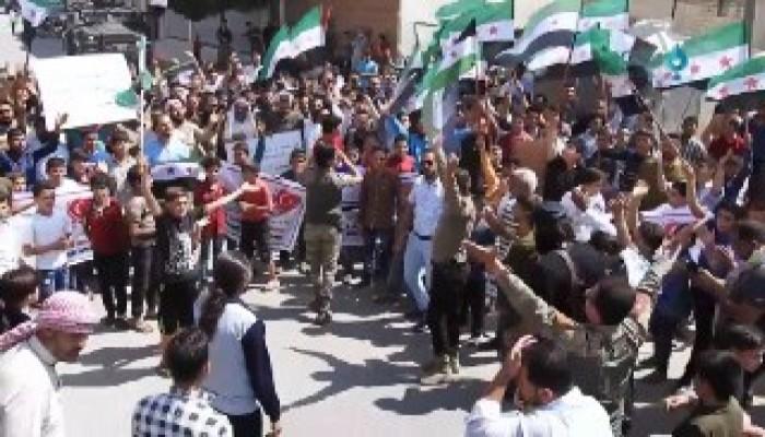 مدن الشام فارغة وأهلها يرقبونها من خيامهم