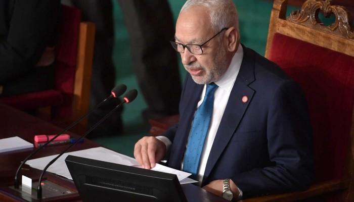 بعد تهنئته السراج.. جلسة مساءلة للغنوشي في البرلمان التونسي