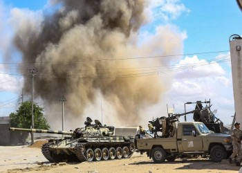قوات حفتر قبل طردهم من مطار طرابلس: دمروا كل شيء