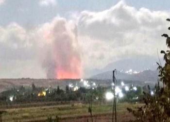 9 قتلى في غارات إسرائيلية على حماة السورية
