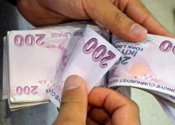 1.4 مليار دولار قيمة العجز النقدي لتركيا في مايو