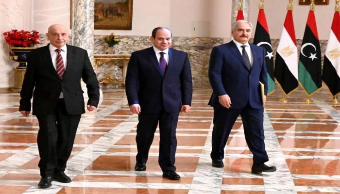 مصر تبحث عن دعم مبادرتها لوقف إطلاق النار في ليبيا