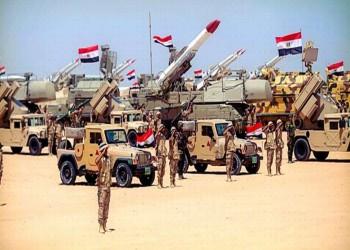 قوات المنطقة العسكرية الشمالية بمصر تحركت للحدود الليبية