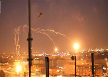 صاروخ كاتيوشا يسقط بالمنطقة الخضراء ببغداد.. ولا ضحايا (فيديو)