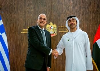 وزيرا خارجية الإمارات واليونان يبحثان تطورات الأوضاع في المنطقة