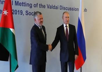 الملك عبدالله يبحث مع بوتين القضية الفلسطينية ومكافحة كورونا