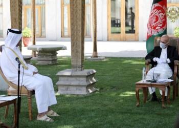 غني يوافق على إجراء مفاوضات مع طالبان في قطر