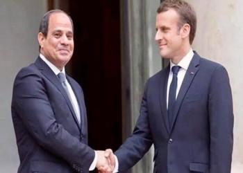 السيسي وماكرون يناقشان الأوضاع في ليبيا