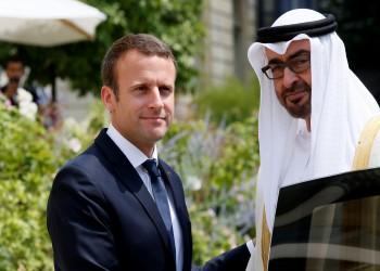 بن زايد يتفق مع ماكرون على دعم إعلان القاهرة حول ليبيا