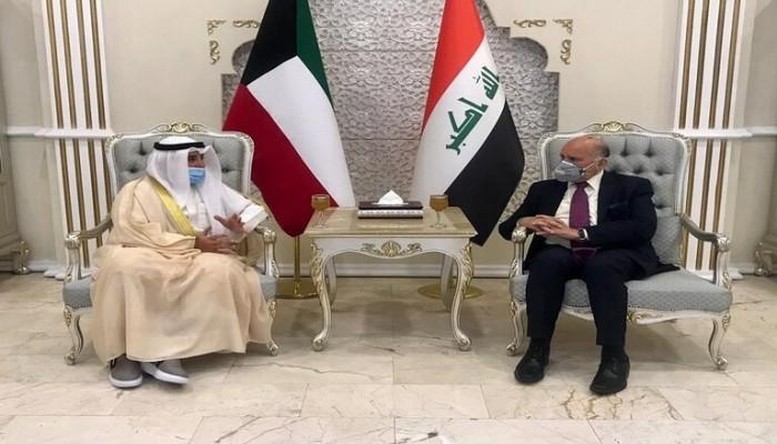 وزير خارجية الكويت يبدأ زيارة رسمية للعراق