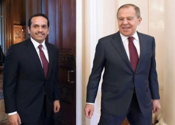 وزيرا خارجية قطر وروسيا يبحثان تطوير العلاقات الثنائية والقضايا المشتركة
